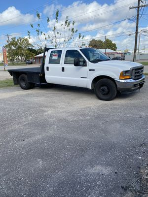2001 F350 Diesel Flatbed Work Truck for Sale in Houston, TX