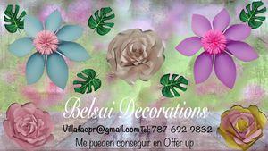 Paper Flowers for Sale in Tampa, FL