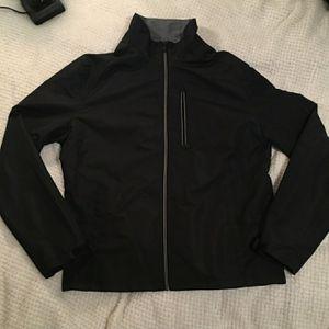 Mens full zip black Michael Kors jacket for Sale in Beverly Hills, TX