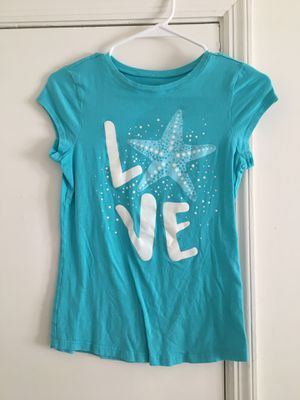 Girls starfish blue shirt for Sale in Tampa, FL