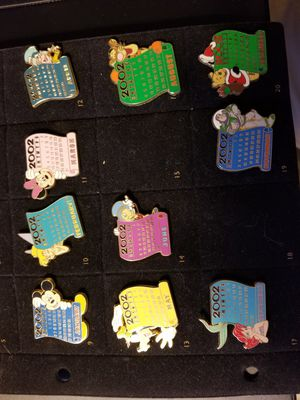 Two incomplete sets of Disney pins. for Sale in Claymont, DE