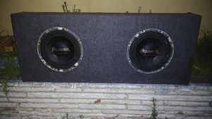 Premier champion series subwoofers 12s with box for truck for Sale in Los Angeles, CA