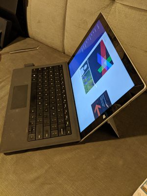 Microsoft SURFACE PRO 3 laptop computer 256 gb / 4gb RAM / + Keyboard MINT! for Sale in Seattle, WA