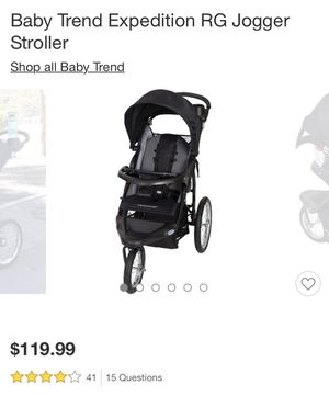 Baby Trend Expedition RG Jogger Stroller for Sale in Falls Church, VA
