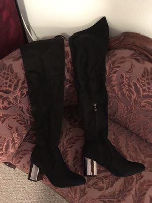 Black suede boots for Sale in New Port Richey, FL