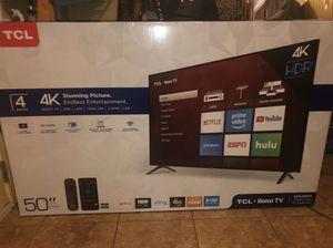50 Inch 4K SMART TV for Sale in Orange, CA