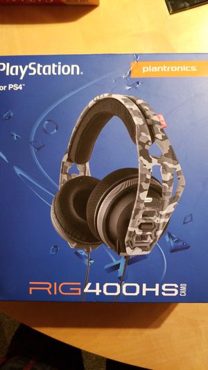RIG 400 HS Headset for PS4 for Sale in Chicago, IL