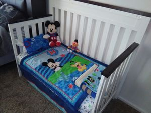 Baby crib, day & full size bed without bedding for Sale in Denver, CO