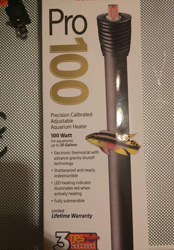 Aqueon Pro100 aquarium heater$15 never used