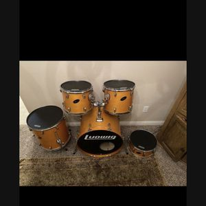 Drum Set - 5 Piece - Ludwig for Sale in Carlsbad, CA