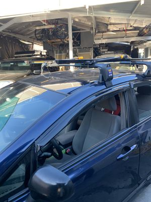 universal roof bars and bike racks for Sale in San Jose, CA