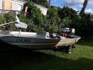 Bass boat/ jon boat for Sale in Fort Lauderdale, FL
