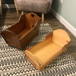 2 Doll Bed Cradle For American Girl Doll for Sale in Gaithersburg,  MD