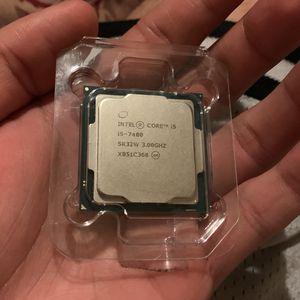 Intel Core i5-7400 3 GHz Quad-Core Processor for Sale in North Las Vegas, NV