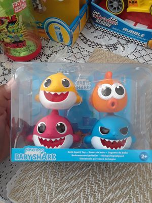 Baby shark bath toys for Sale in Santa Ana, CA