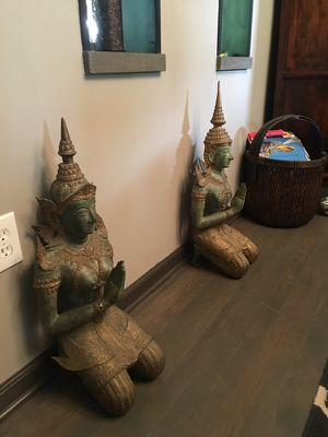 Thai Metal Buddha Sculptures Rare for Sale in Silver Spring, MD
