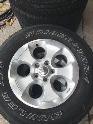 Jeep Wrangler Sahara Wheels for Sale in Tarpon Springs, FL