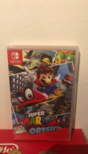 Nintendo Switch Mario Odyssey for Sale in La Crescenta-Montrose, CA