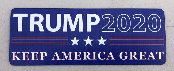 Brand new Trump 2020(Keep America Great) magnets