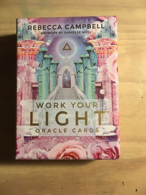 Work Your Light Oracle Cards for Sale in Modesto, CA