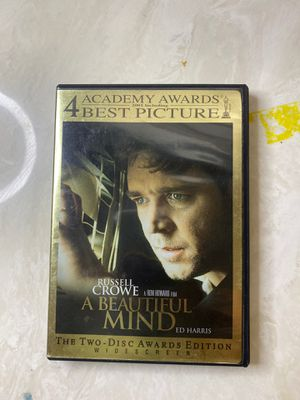 A Beautiful Mind 2 Disc Edition DVD for Sale in Englewood, NJ