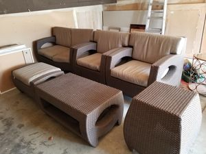 Outdoor furniture and Sunbrella cushions for Sale in Castro Valley, CA