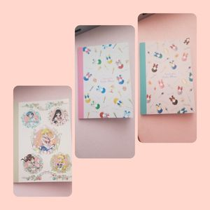 Sailor moon mini schedule notebook set for Sale in Yakima, WA