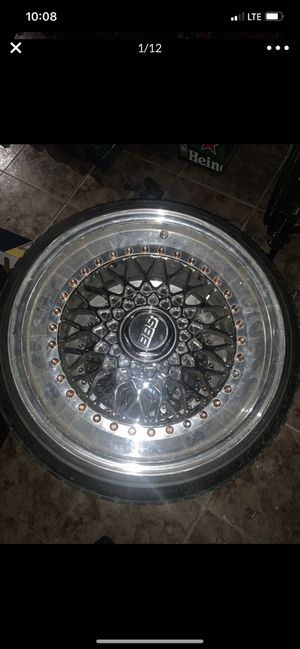 "17"" REAL BBS RS WHEELS 5x114.3 for Sale in Opa-locka, FL"