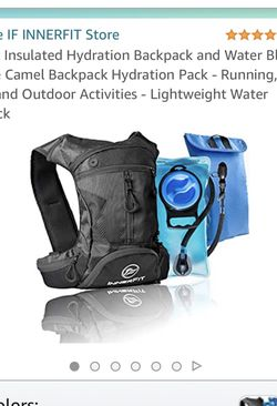 Insulated Hydration Backpack and Water Bladder, Durable Camel Backpack Hydration Pack - Running, Hiking, Biking and Outdoor Activities - Lightweight for Sale in Bothell,  WA