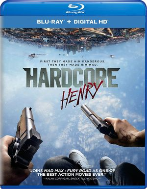 Hardcore Henry Blu-ray digital copy only for Sale in San Diego, CA