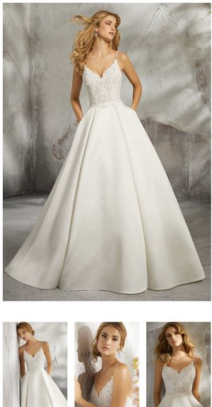 Morí Lee Luella Wedding Dress Style 8272 Size 10 for Sale in Inglewood, CA