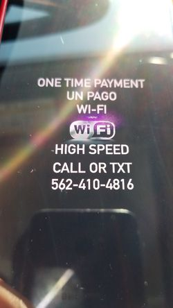 Super high speed. Cable TV also offer Internet and Router for wifi open box in great condition Wi-fi for Sale in Long Beach,  CA