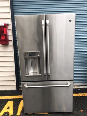 Stainless steel refrigerator cafe for Sale in Kent, WA