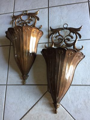 "Metal sconces 25""tall for Sale in Surprise, AZ"