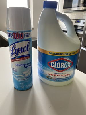 Lysol and Bleach combo for Sale in Alexandria, VA