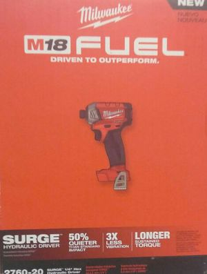 Milwaukee M18 Surge 1/4 hex Hydraulic Driver for Sale in Powder Springs, GA