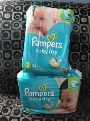 Pampers Diapers size 2 for Sale in Pasadena, TX