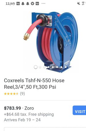 Coxreels 3/4,50ft hose reel brand new for Sale in Orange, TX