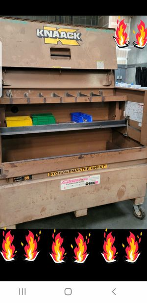 Knaack rolling box on WHEELS!!! Free delivery! Tool tools for Sale in Culver City, CA
