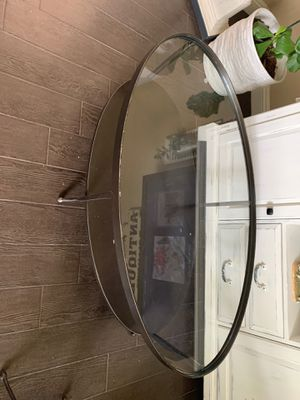 3 pcs metal and glass table set for Sale in Bakersfield, CA