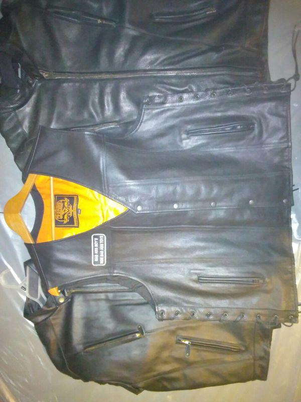Motorcycle vest jackets