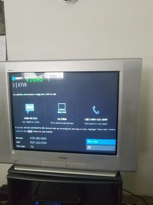32' Sony Triniton TV for Sale in Tempe, AZ