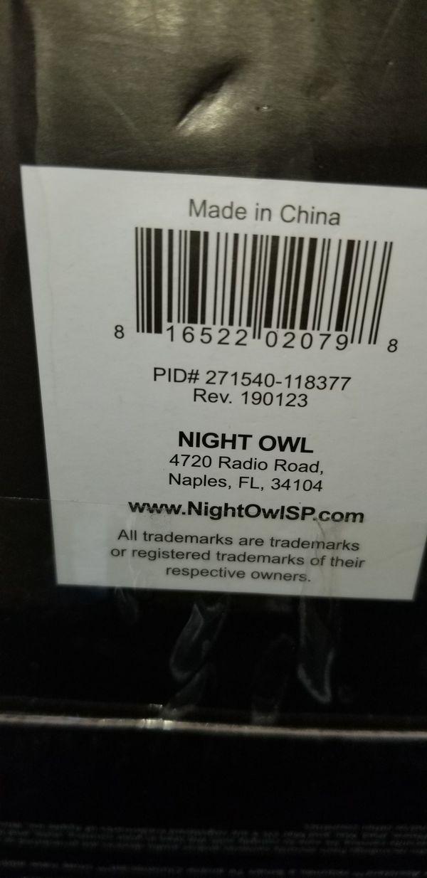 Night owl video Wireless cameras