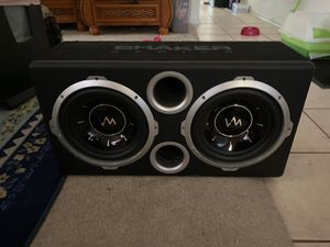 """10"""" VM SRW10 SHAKER Series in a ported enclosure. for Sale in Hacienda Heights, CA"""