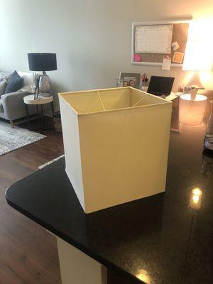 Cream Lamp Shade for Sale in Nashville, TN