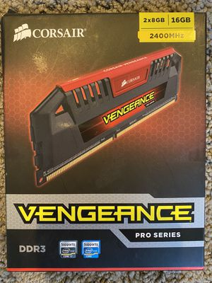 Corsair vengeance pro series 2x8GB 2400 MHZ ram for Sale in Bend, OR