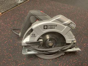 Porter Cable Corded Saw - 13 AMP - 7 1/4 in blade for Sale in Lake Forest, CA