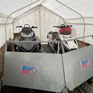 Polaris & Ski Doo Snowmobiles And Trailer Bundle for Sale in Kent, WA