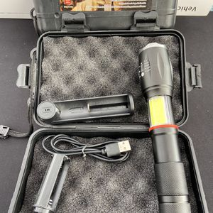 New Rechargeable LED Cob Flashlight 🔦 for Sale in El Monte, CA