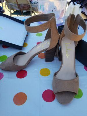 Women's Brown heels size 7 for Sale in Fresno, CA